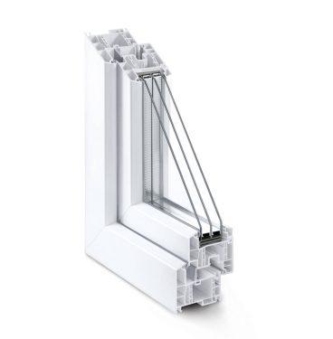tamplarie PVC geam cu 6 camere termopan - Lichidare de Stoc 2019