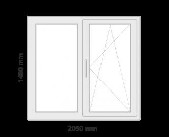 window 1 grey  - Prețuri
