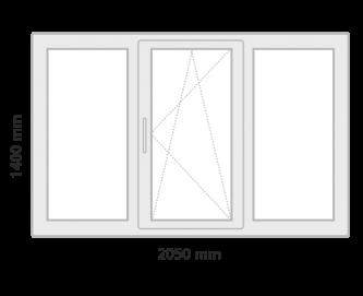window 2 grey  - Prețuri