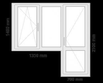 window 3 grey  - Prețuri