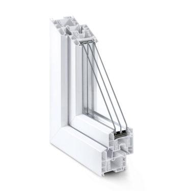 tamplarie PVC geam cu 6 camere termopan - FERESTRE GRAZIO